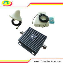 65dB Gain Lte 850MHz 1900MHz GSM Cell Phone Mobile Signal Booster 3G with Antennas