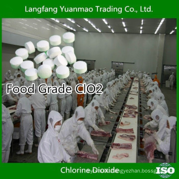 Food Grade Chlorine Dioxide Tablet from China Supplier