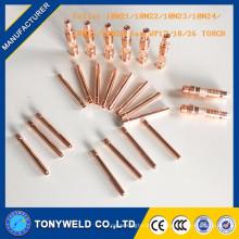 Tig recolher 10N23 para WP17 / WP18 / WP26 para torch tig qq-150
