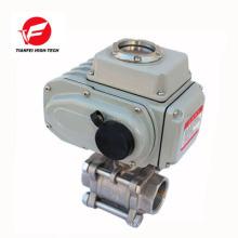 12v 24v 220v ss304 4-20ma elektrische automatische Durchflussregelventil
