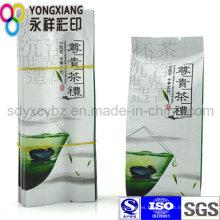 Bolsa de plástico para envasado de té / café de 4 sellos