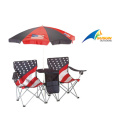 2 Seats Chair With Umbrella