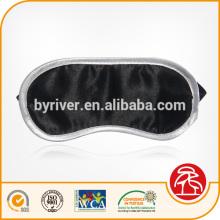 Novidade de luxo personalizado Snooze suave cetim esponja acolchoada dormir olho máscara personalizada