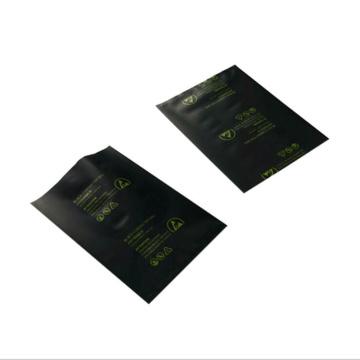 Customized Printed Logo Black ESD Conductive PE Bag