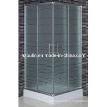 Salle de douche carrée (EM-701)