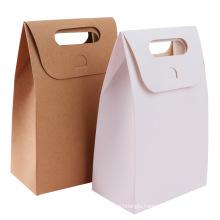 Snack bag Low MOQ Moisture Proof Resealable High Quality Kraft Paper Zip lock Bags
