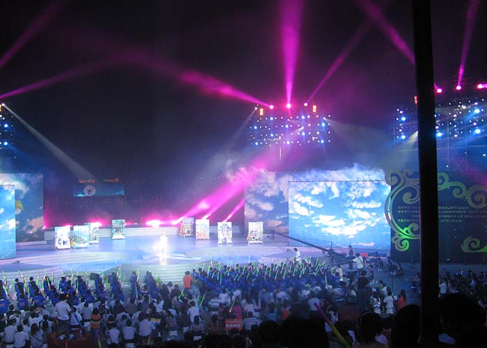 lower Power Consumption high Refresh rate rental led screen