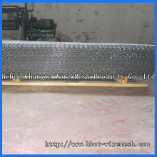 Double Crimped Wire Mesh of Stainless Steel Wire, Steel Wire
