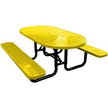 Декоративные перфорированная обеденный стол со стульями