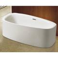 Cupc CE Ellipse Acrylic Freestanding Bathtub