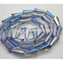 Pagoda shape crystal glass beads,wholesale lampwork beads,fashion tower beads