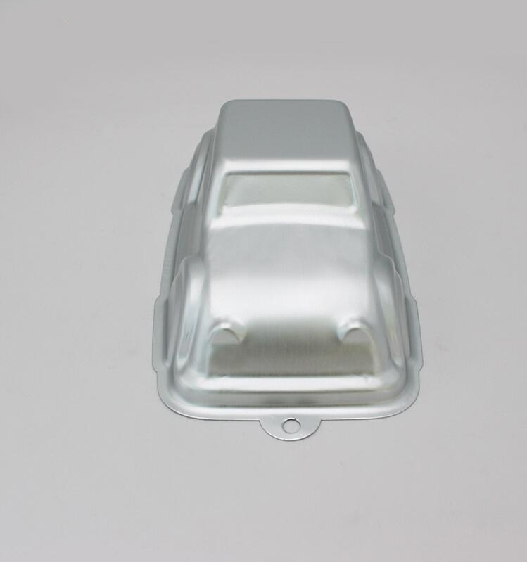 Aluminum Alloy Car Shape Cake Baking Mould (2)