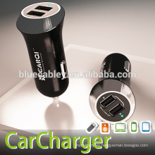 Nueva salida del diseño 5V2.1A cargador dual del coche del puerto del USB