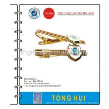 Kundenspezifische Design weiche Emaille Metall Krawatte Pin / Clip / Bar