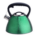 Whistling Green Color Kettle mit Anti-Hot-Griff