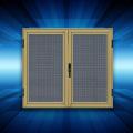 Electro galvanizado pantalla de ventana de alambre para puertas de uso industrial con SGS