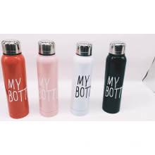 Minha garrafa garrafa de água garrafa de água de aço inoxidável garrafa térmica copo fino vácuo garrafa