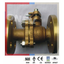 Class 150 Flange End Bronze Ball Valve