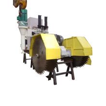 Máquina de corte con cuchillas verticales y horizontales