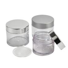 Principais produtos do fabricante Várias capacidades frasco plástico PETG para creme cosmético com tampa