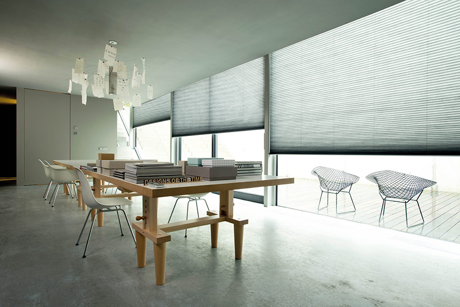 Electric Honeycomb shade