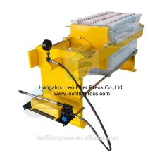 Leo Filterpresse 400 Kleine manuelle Hydraulikfilterpresse zum Testen