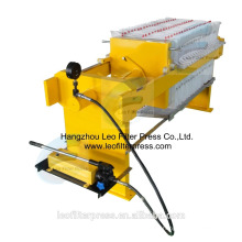 Leo Filter Press 400 Small Manual Hydraulic Filter Press for Testing