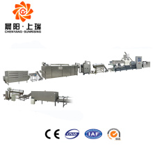 CE extruded corn flakes production line