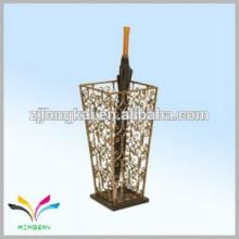 Paraguas de jardín soporte de paraguas de latón antiguo
