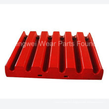 High Quality Mn13cr2 Mn18cr2 Jaw Crushing Plate Compatible with Metso, Kleemann, Extec, Telsmith