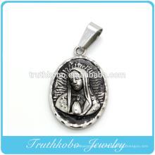 2014 Fashionabe Católica Santísima Virgen María Significado Colgante Religioso Nuevo casting Joyería Hallazgos