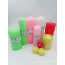 Professional Factory Supply Scented Pillar Candle