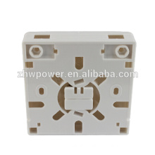 China supply 2core/port wall mounted fiber face plate 86*86 type ,indoor fiber optic small/tool box