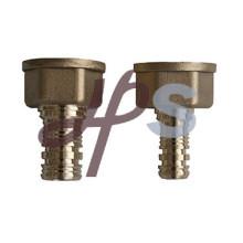 Adaptateur femelle en laiton pex, raccord en laiton pex et connecteur
