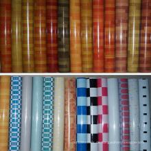 Heißer Verkauf Indien Thailand 1,0mm-2,0mm Marmor PVC Bodenbelag