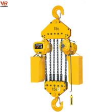 Alzamiento de cadena eléctrico del tipo del arreglo 15ton