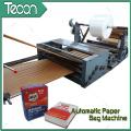 Machine à fabriquer des sacs en papier au ciment avec une impression de 4 couleurs en ligne