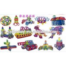 Bom educativo magnético brinquedos de construção mag-sabedoria novos produtos
