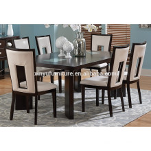 Modern wooden dining table and chair set XYN1476