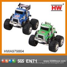 1:64 Brinquedos Diecast Pull Back Carro Big Wheel 12PCS / BOX