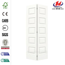 JHK-S08 blanc bois garniture Vertical Bi-pliage porte automatique