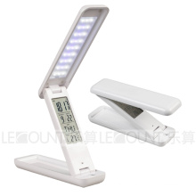Folding Touch Sensor LED Table Lamp with LCD Display Calendar (LTB705)