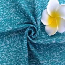 Odor Resistant,Anti-uv,Antibacterial,Space dye sport fabric for yoga running tshirt