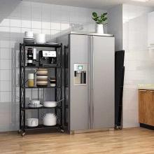 4 prateleiras, sem instalação, prateleiras dobráveis de armazenamento em aço carbono