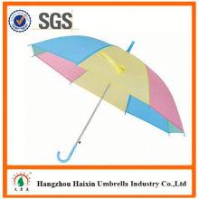 Professional Auto Open Cute Printing straight umbrella