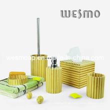 Accesorio de bambú del baño de la raya (WBB0329A)
