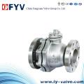 Clase 150-300 Válvula de bola flotante de acero inoxidable