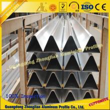 Tubulação de alumínio da fonte da fábrica com tamanho Custimized para o uso de Funriture