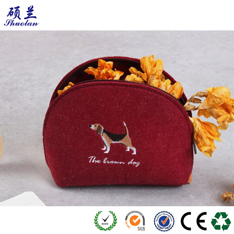 High Quality Felt Cluch Bag