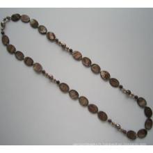 Grand collier de perles de mode, bijoux de perles de fantaisie